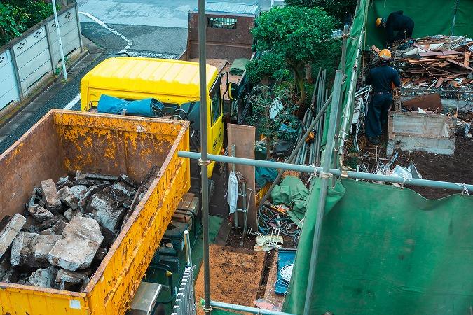 解体工事で発生する廃棄物の種類